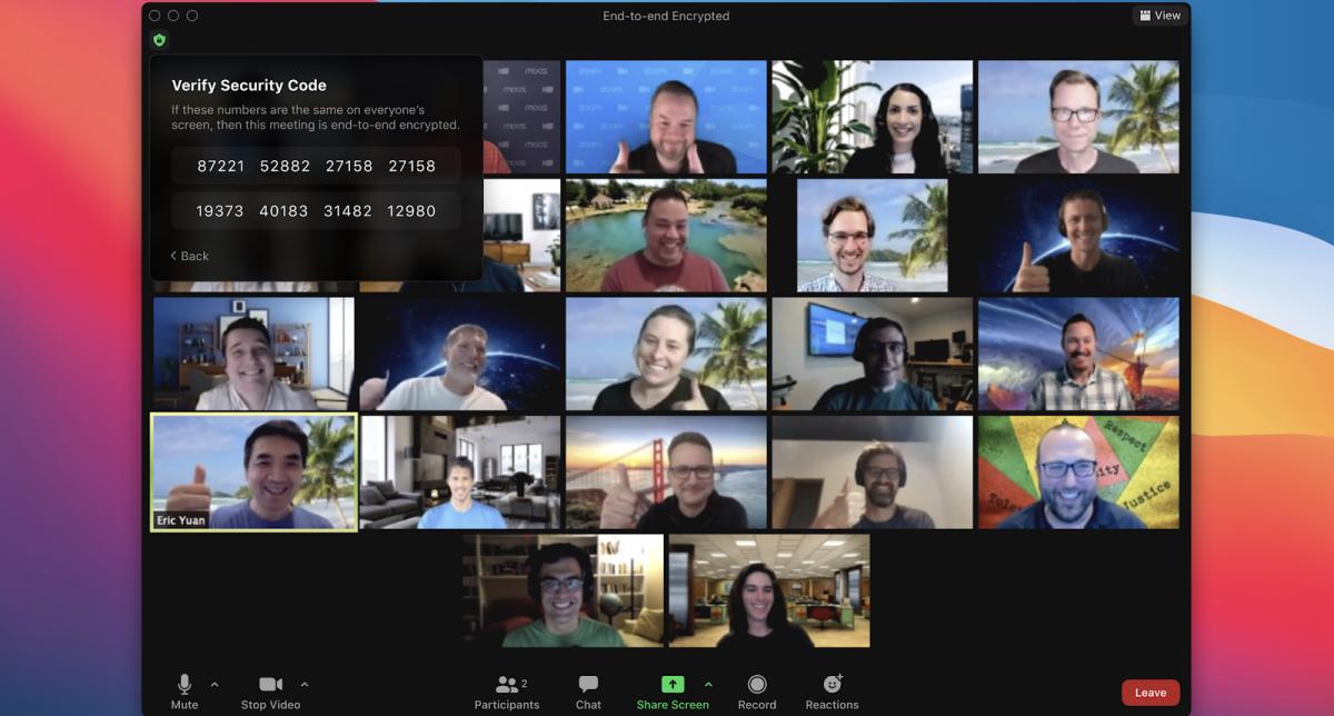 Zoom готовится к поэтапному запуску сквозного шифрования видеозвонков