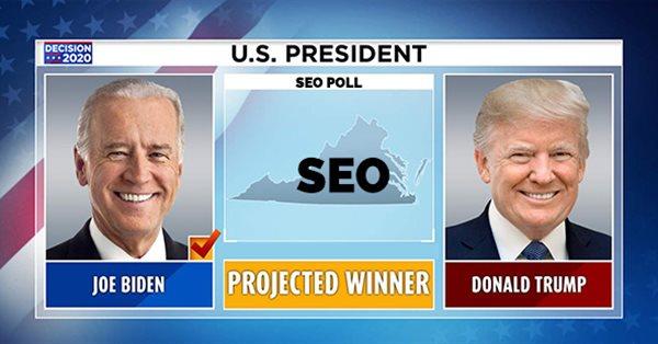 За кого голосуют SEO-специалисты в США – опрос