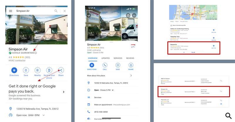 """Google начал тестировать показ значка """"Гарантия Google"""" в профилях компаний"""