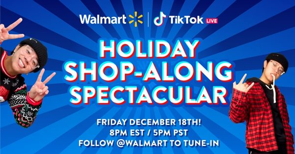 Walmart протестирует продажу товаров через прямые трансляции в TikTok