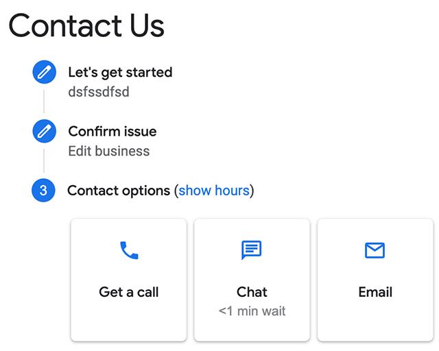 Google Мой бизнес возобновил телефонную поддержку пользователей