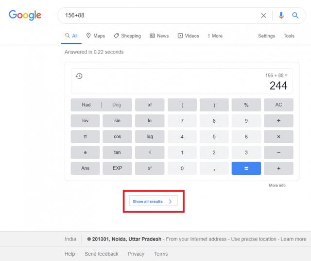 Google снова тестирует «нулевую выдачу» на десктопах