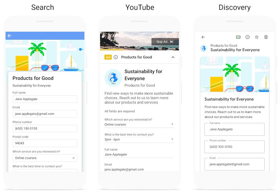 Google Ads улучшил функционал расширения для сбора лидов