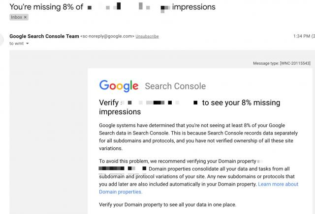 Google продвигает доменные ресурсы в Search Console