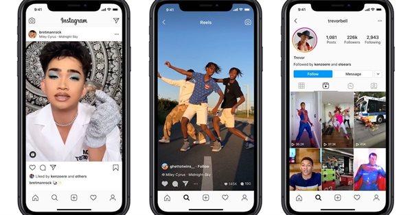 Instagram больше не будет продвигать в Reels видео из TikTok