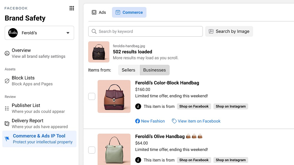 Facebook обновляет инструменты для защиты репутации бренда и авторских прав