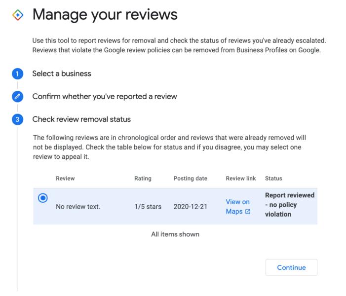 В Google Мой бизнес появился инструмент для управления отзывами