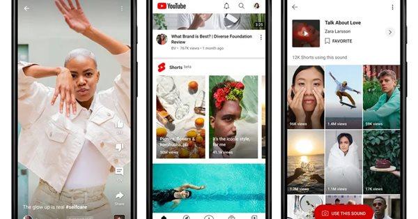 YouTube начал запуск сервиса коротких видео Shorts в США