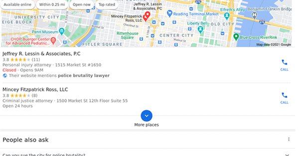 Google тестирует блоки локальной выдачи с двумя результатами вместо трех