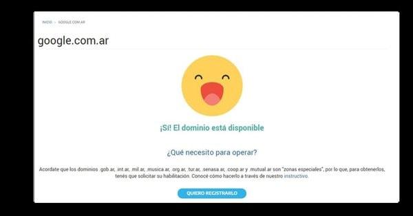 Веб-дизайнер случайно купил доменное имя Google Argentina за $2,9