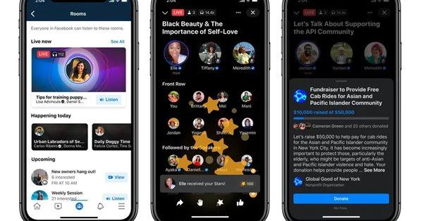 Facebook готовит к запуску конкурента Clubhouse, функцию Soundbites и интеграцию со Spotify
