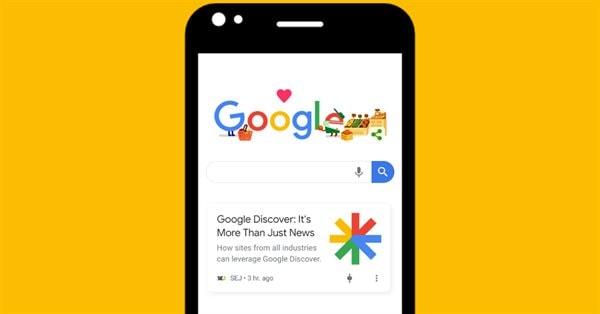 Google тестирует обновленный дизайн ленты Discover