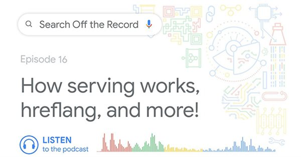 Вышел новый эпизод подкаста Search Off the Record