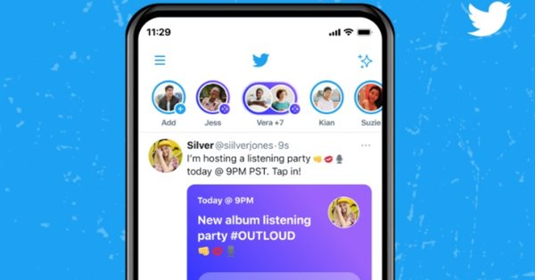 Twitter открыл доступ к Spaces всем аккаунтам с 600+ подписчиками