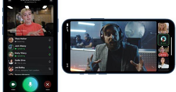 Telegram готовит к запуску групповые видеозвонки