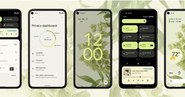 Google представил Android 12 с новым дизайном и интерфейсом