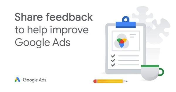 Google Ads приглашает принять участие в опросе на тему UX