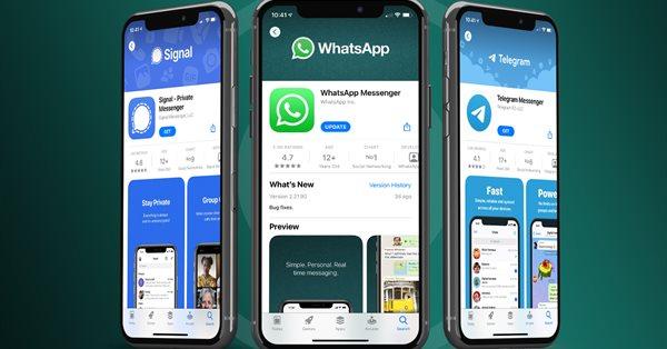 С января по апрель количество установок Telegram выросло на 98%, а Signal – на 1200%