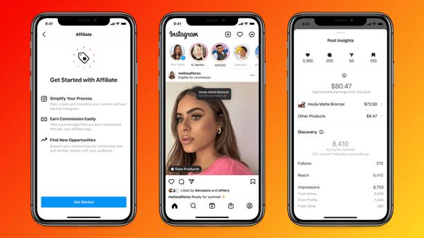 Instagram запускает новые инструменты монетизации