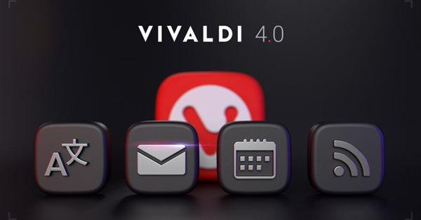 В браузере Vivaldi появились почта, календарь, переводчик и RSS-ридер