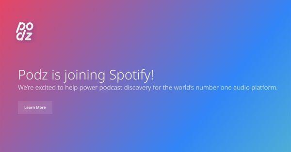 Spotify купил технологию для поиска подкастов
