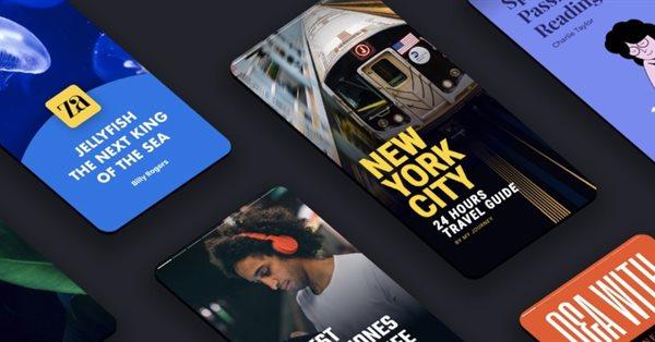 Google Web Stories перешли отметку в 100 тыс. новых историй в день