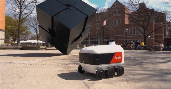 Роботы Яндекса займутся доставкой еды в кампусах американских университетов