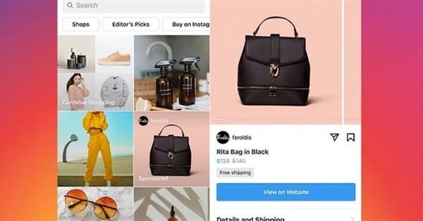 Instagram начал тестировать рекламу на вкладке «Shop»