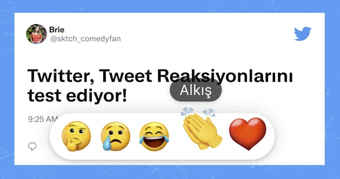 Twitter приступил к тестированию «реакций»