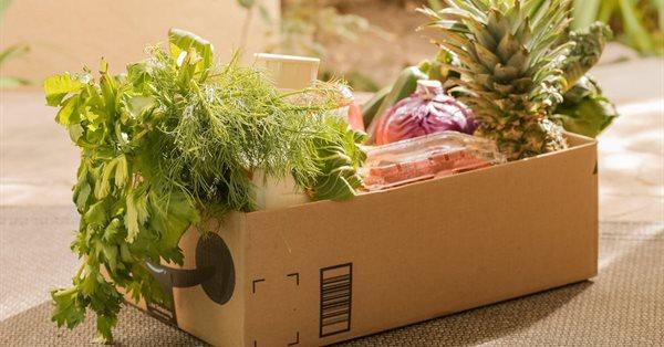 Онлайн-продажи продуктов питания в России выросли на 174% за полгода