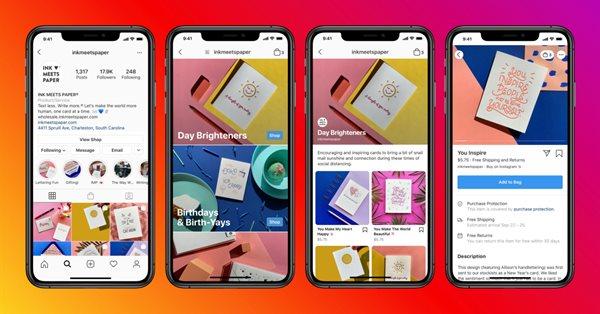 Instagram запускает рекламу на вкладке «Shop» по всему миру