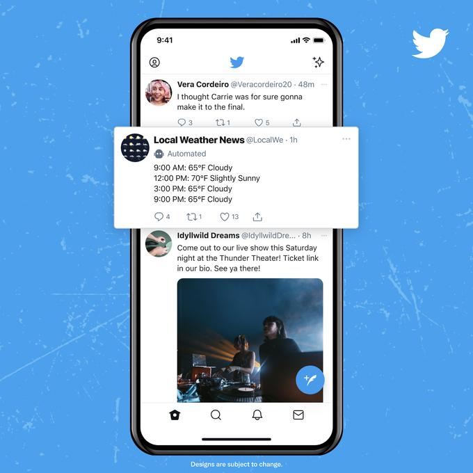 Twitter начал тестировать ярлык для бот-аккаунтов