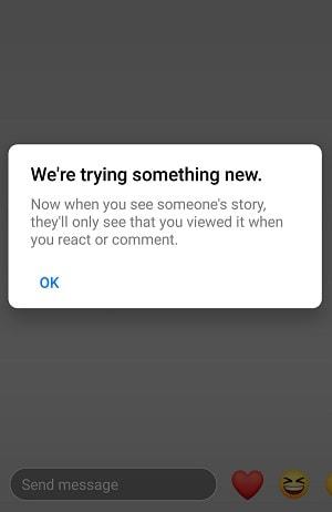 В новом тесте Facebook ограничивает данные о том, кто просмотрел «истории»