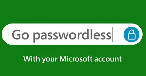 Для аккаунтов Microsoft больше не нужны пароли