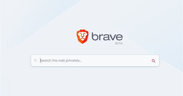 Браузер Brave переходит на поиск Brave Search по умолчанию
